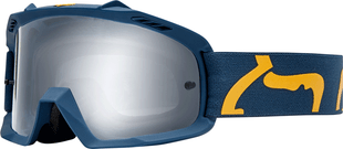 Fox Racing Airspace Race Youth Motocross Goggles - Navy Yellow