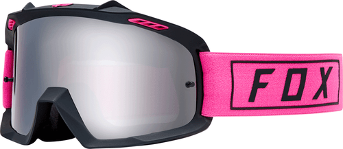 Fox Racing Airspace Gasoline Youth Boys Motocross Goggles - Pink