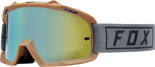 Fox Racing Airspace Gasoline Youth Motocross Goggles - Grey