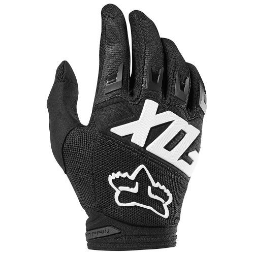 Fox Racing Dirtpaw Race Enduro Boys Motocross Gloves - Black