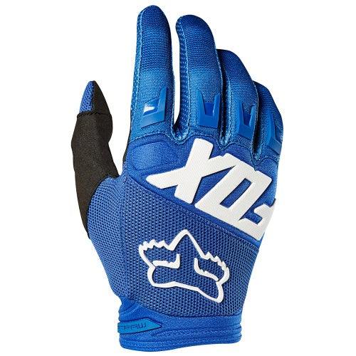 Fox Racing Dirtpaw Enduro Boys Motocross Gloves - Blue