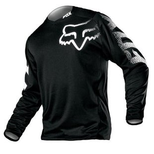 Fox Racing Blackout Enduro Motocross Jerseys - Black
