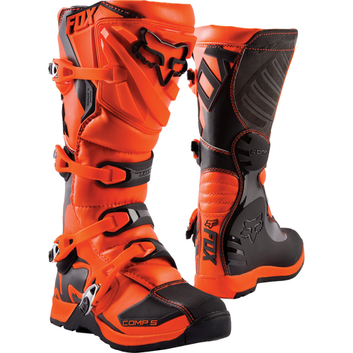 Fox Racing Comp 5 YOUTH Motocross Boots - Orange
