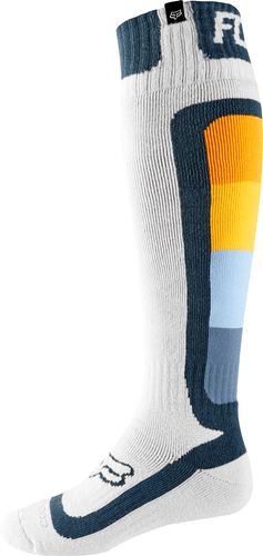Fox Racing Coolmax Thin - Murc MX Boot Socks - Light Grey
