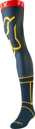 Fox Racing Classic , Knee Brace Socks - Navy Yellow