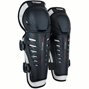 Fox Racing Titan Race Knee and Shin Protection - Black