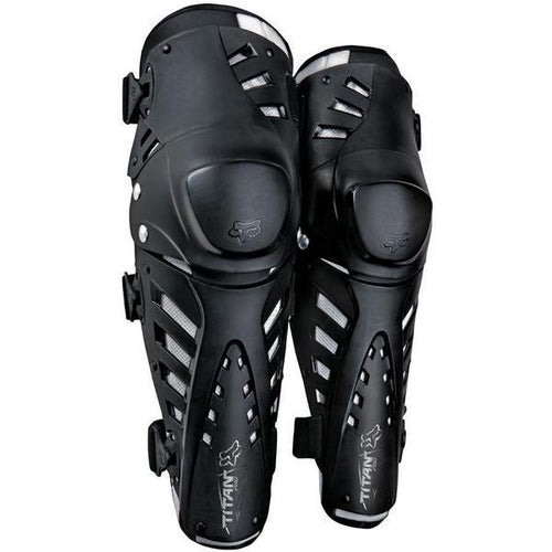 Fox Racing Titan Pro Knee and Shin Protection - Black