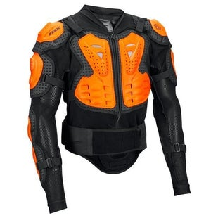 Fox Racing Titan SportJacket Body Protection - Black Orange