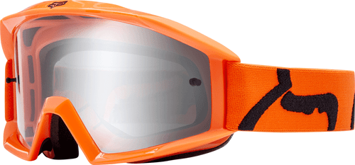 Fox Racing Main Race Motocross Goggles - Orange