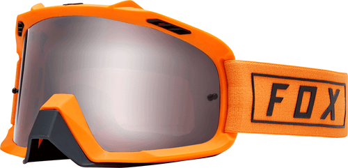 Fox Racing Air Space Gasoline Motocross Goggles - Orange Flame