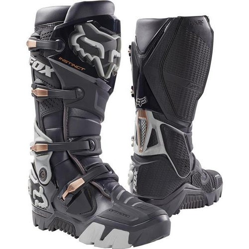 Fox Racing Instinct Off Road Enduro Motocross Boots - Charcoal