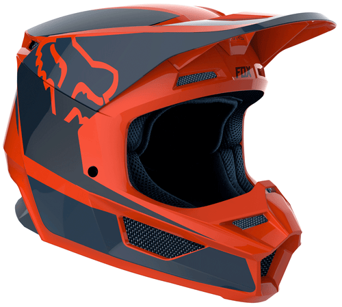 Fox Racing V1 Przm Motocross Helmet - Orange