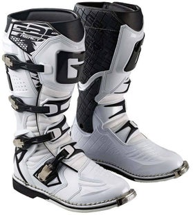 Gaerne Boots G React Motocross Boots - White Black