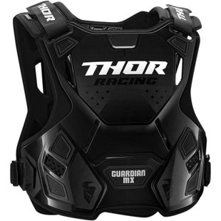 Thor Guardian YOUTH MX Motocross and Enduro Boys Chest Protection - White Black