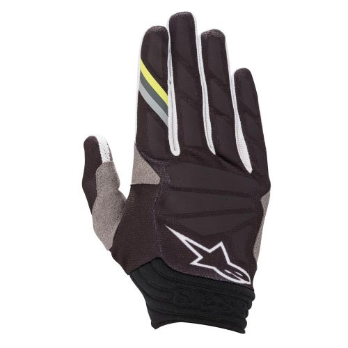 Alpinestars Aviator , MX Glove - Anthracite Black