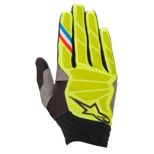 Alpinestars Aviator Motocross Gloves - Yellow Fluo Black
