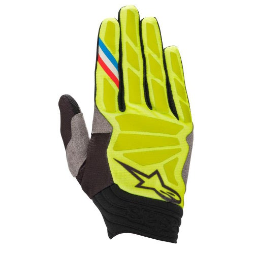 Alpinestars Aviator , MX Glove - Yellow Fluo Black