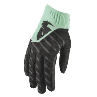 Thor Rebound MX Motocross and Enduro Motocross Gloves - Black Mint