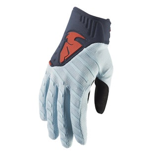 Thor Rebound MX Motocross and Enduro Motocross Gloves - Sky Midnight