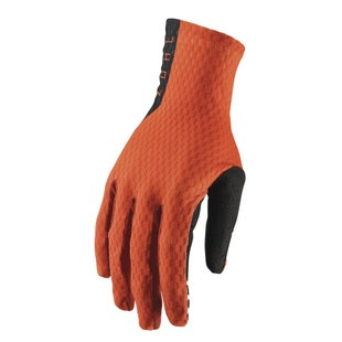 Thor Agile MX Motocross and Enduro Motocross Gloves - Red Orange Black