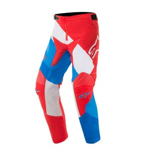 Calzones de MX Alpinestars Youth Racer Venom - Red White Blue