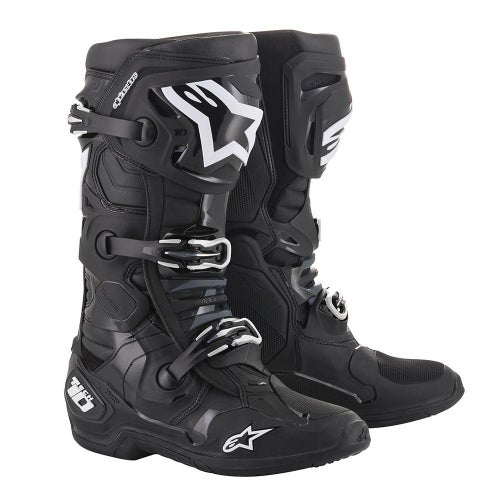 Alpinestars Tech 10 Motocross Boots - Black