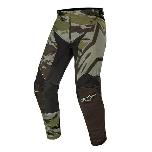 Alpinestars Racer Tactical Motocross Pants - Black Green Camo