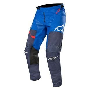 Calzones de MX Alpinestars Racer Flagship - Dark Navy Blue Red