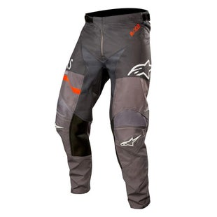 Calzones de MX Alpinestars Racer Flagship - Mid Gray Anthracite Orange Flu