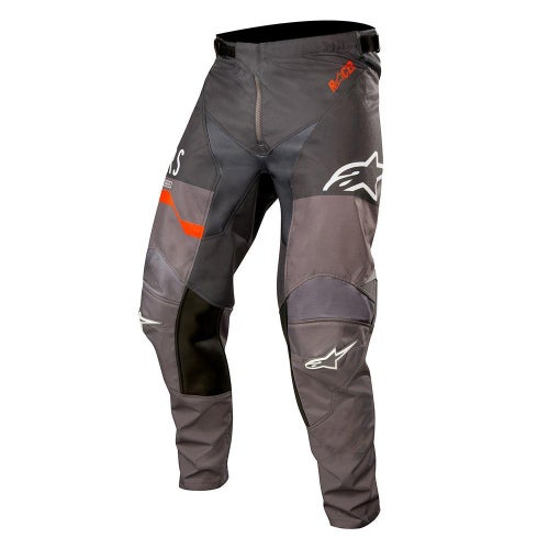 Alpinestars Racer Flagship Motocross Pants - Mid Gray Anthracite Orange Flu