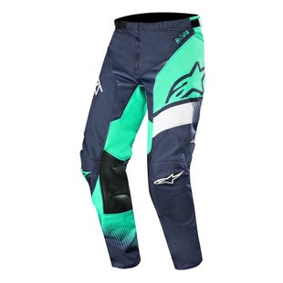 Calzones de MX Alpinestars Racer Supermatic - Dark Navy Teal White