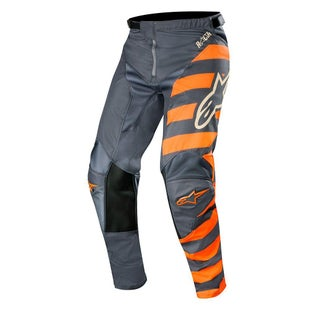 Calzones de MX Alpinestars Racer Braap - Anthracite Orange Fluo Sand