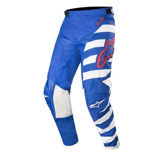 Calzones de MX Alpinestars Racer Braap - Cool Gray Dark Navy Teal