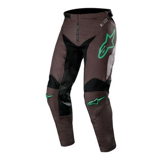 Calzones de MX Alpinestars Racer Tech Compass - Black Mid Gray Teal