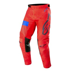 Calzones de MX Alpinestars Racer Tech Atomic - Red Dark Navy Blue