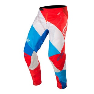 Calzones de MX Alpinestars Techstar Venom - Red White Blue