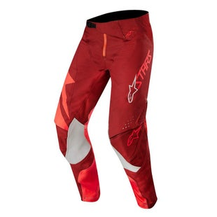 Calzones de MX Alpinestars Techstar Factory - Red Burgundy