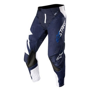Calzones de MX Alpinestars Techstar Factory - White Dark Navy