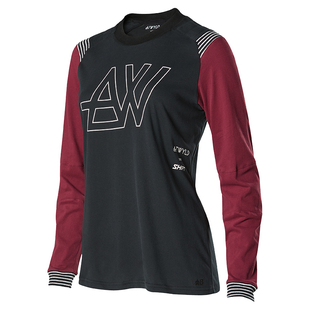 Shift ATWYLD Motocross Jerseys - Black Purple