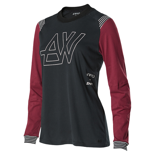 Maillot MX Shift ATWYLD - Black Purple