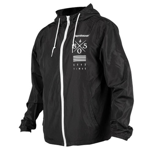 Fasthouse Gas And Beer Breaker Jacket - Black