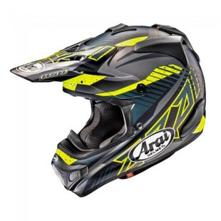 Arai MXV Slash Motocross Helmet - Black