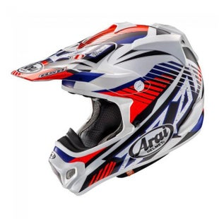Arai MXV Slash Motocross Helmet - Red