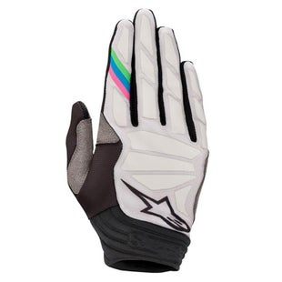 Alpinestars Aviator Motocross Gloves - Cool Gray Black