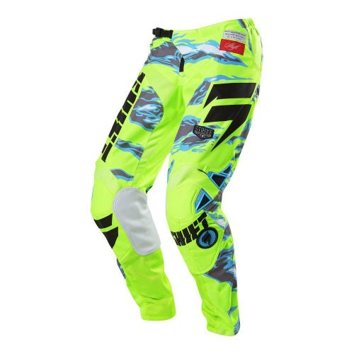 Shift Strike Motocross Pants - Yellow Camo