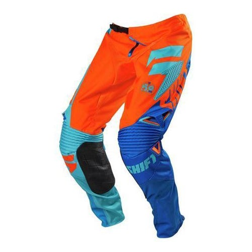 Shift Faction MX Bukser - Orange Blue