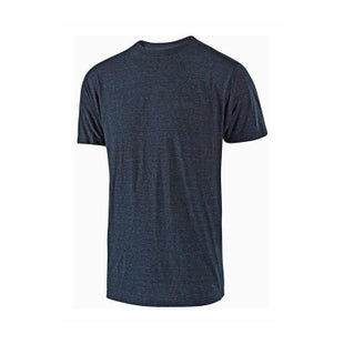 Troy Lee Linear Short Sleeve T-Shirt - Midnight Blue
