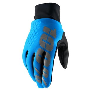 100 Percent Hydromatic Brisker Motocross Gloves - Blue