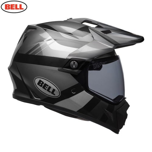 Bell MX-9 Mips Adventure Helmet - Blackout Matte Gloss Black