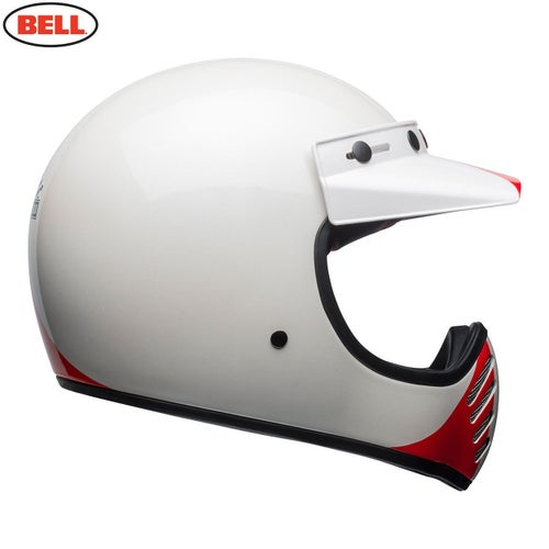Bell Cruiser 20181 Moto 3 Adult Helmet Motocross Helmet - Ace Cafe GP 66 White Blue Red